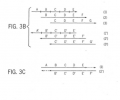 FIGS. 3A-D show an aspect of the invention for generating long DNA sequences starting from a set of many redundantly overlapped oligonucleotides, where the majority of the oligonucleotide sequence is used to generate the complementary overlap, thereby improving the possibility of annealing.