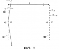 FIG. 1 is a representation of a hybrid transmission-reflection grating according to the concepts of the present invention.