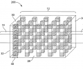 Three dimensional single-chamber fuel cells
