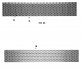 FIG. 2A is a Fresnel simulation of optical intensity within a cross-section of a second photosensitive material formed in accordance with the invention; FIG. 2B is a computer simulation of the photosensitive material structure after the exposure of FIG. 2A and development.