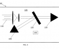 FIG. 3 is a schematic illustration of the optical setup for a single-etalon geometry for the gas detector.
