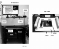 Image 2. Exemplary photographs of the front and top view of the described imaging system including a multiphoton microscope.