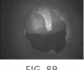 llustrates a short wave infrared image of a middle ear model with no fluid taken using the short wave infrared otoscope device