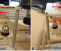 Experimental Verification of Deterministic Motion Path During Passive Alignment