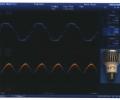 Figure 1-1: 6W, 3 LED input output voltage/current waveform.