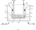 Schematic of apical insert within hanging cell culture insert providing media flow