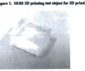 Example of a 3D printed object with exceptionally low loss values