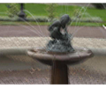 """Left: A picture affected by camera shake. Middle: The picture after the Photoshop """"unsharp mask"""" tool was used on it. Right: Result of the algorithm being applied to the picture."""