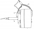 FIGS. 2A-2E illustrate various views of an embodiment of a fast tool servo in accordance with an aspect of the invention;