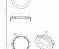 FIG. 3 includes cross-sectional and perspective views of the injection ports.