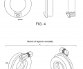 FIG. 4 are sectional views of the injector plenum disclosed herein.  FIG. 5 are perspective views of the injector assembly according to an embodiment of the invention.