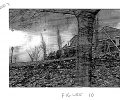 FIGS. 10 and 11 are example images of a scene taken at different points in time; and