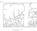 FIGS. 12-15 are examples of processing data in connection with the images of FIGS. 10 and 11 in accordance with techniques described herein.