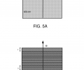 FIGS. 5A-5B include exemplary cross-sectional schematic illustrations of an emitter, according to one set of embodiments