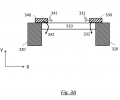 FIG. 3A schematically shows the patches architecture for causing an out-of-plane element;