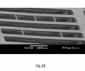 FIG. 6B is a scanning electron micrograph showing the post-release configuration for an exemplary runners architecture
