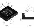FIGS. 9A and 9B are schematic representations of three-axis thermal accelerometer;
