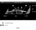 FIG. 12 is the profilometric image (oblique plot) of the device of FIG. 9A