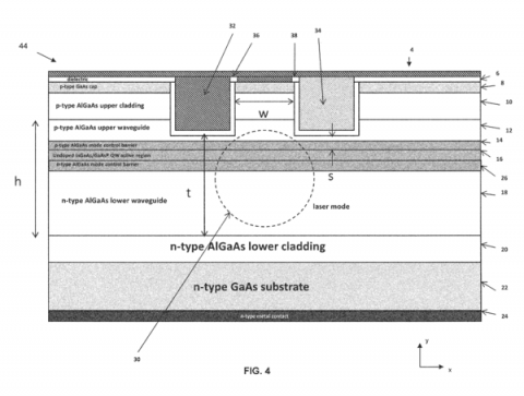 Very Large Mode Slab-coupled Optical Waveguide Laser and Amplifier on