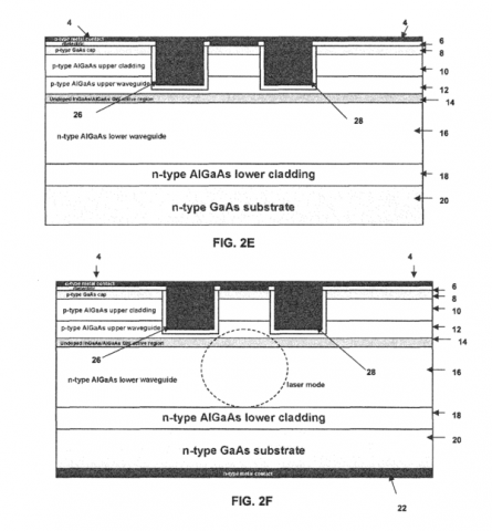 High Efficiency Slab-coupled Optical Waveguide Laser and Amplifier on